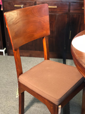 Somerton Dining Chair with Cushion TEK168 CH 000 SMT ( Mahogany Colour )