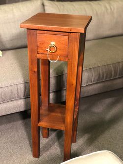 Signature Telephone Table Planter Stand TEK168 PS 001 SL Side Table ( Mahogany Colour )
