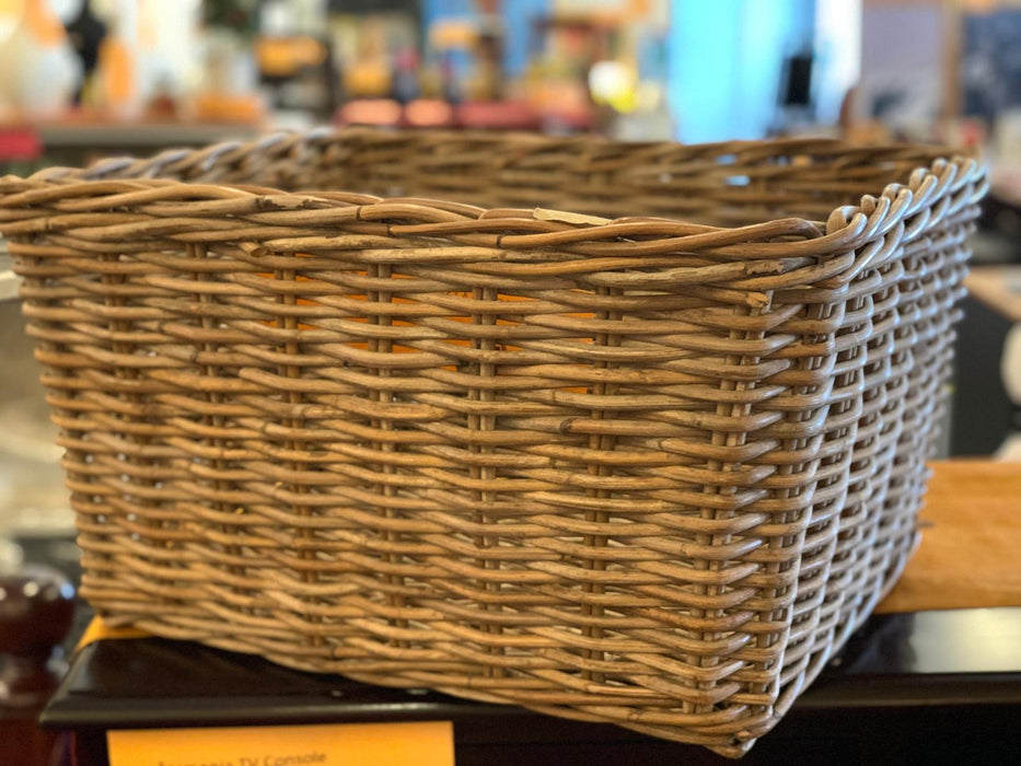 Rectangle Rattan Basket TEK 3978