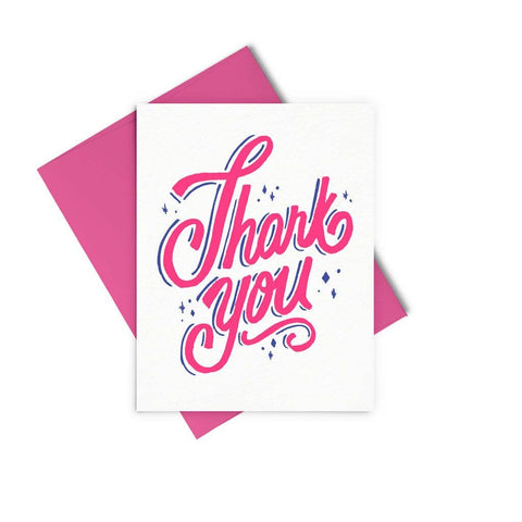 Thank You Sparkles Card