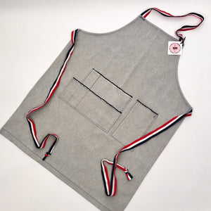 Herringbone Denim Apron by elle B see