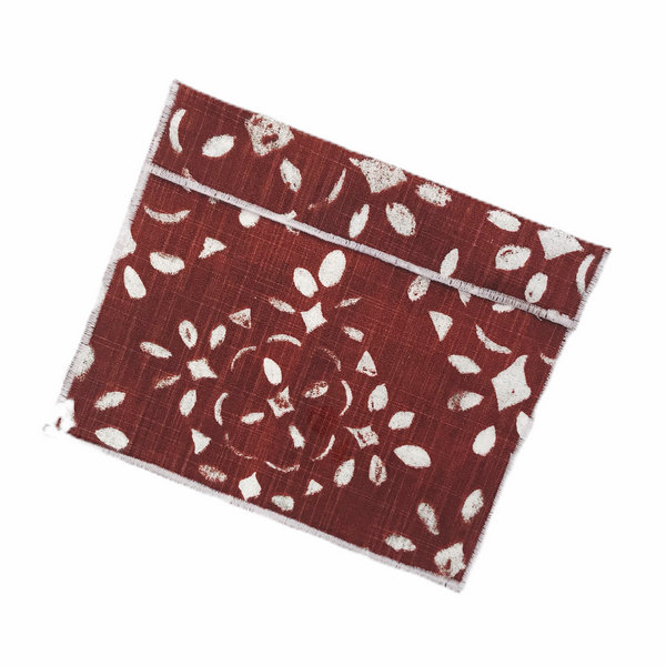 Medium Size Reusable Snack Bag / Sienna