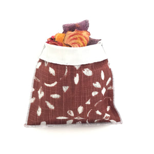 Handmade Reusable Snack Bag - Sienna