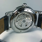 Chronoswiss Sirius Day Date Manufacture CH-1923-BL Automatikuhr Silber Detail