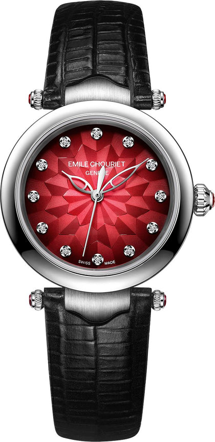 Emile Chouriet Fair Lady Watch Rot/06.2188.L.6.6.R7.2