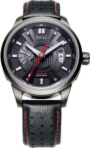 FIYTA Extreme Roadster WGA8448.BBB Automatic Leather Strap