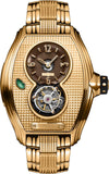 Memorigin Bourbon Series Tourbillon Gold Steel Bracelet 4894379500348 SS