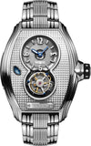 Memorigin Bourbon Series Tourbillon Silver Steel Bracelet 4894379500447 SS