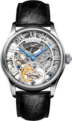 Memorigin Lady Series Skeleton Tourbillon Silver 4894379050218
