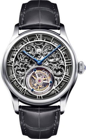 Memorigin Orbit Series Skeleton Tourbillon Silver