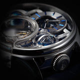 Memorigin Stellar Series Imperial Tourbillon Silver Detail 2