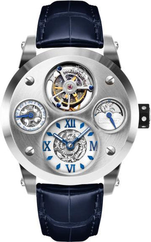 Memorigin The Time Machine Tourbillon Silver 4894379500249