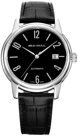 Sea-Gull D819.615 Watch Schwarz