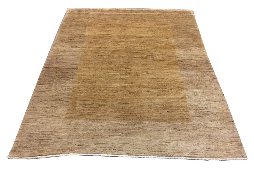 Gabbeh  Brown Hand-Knotted Rug