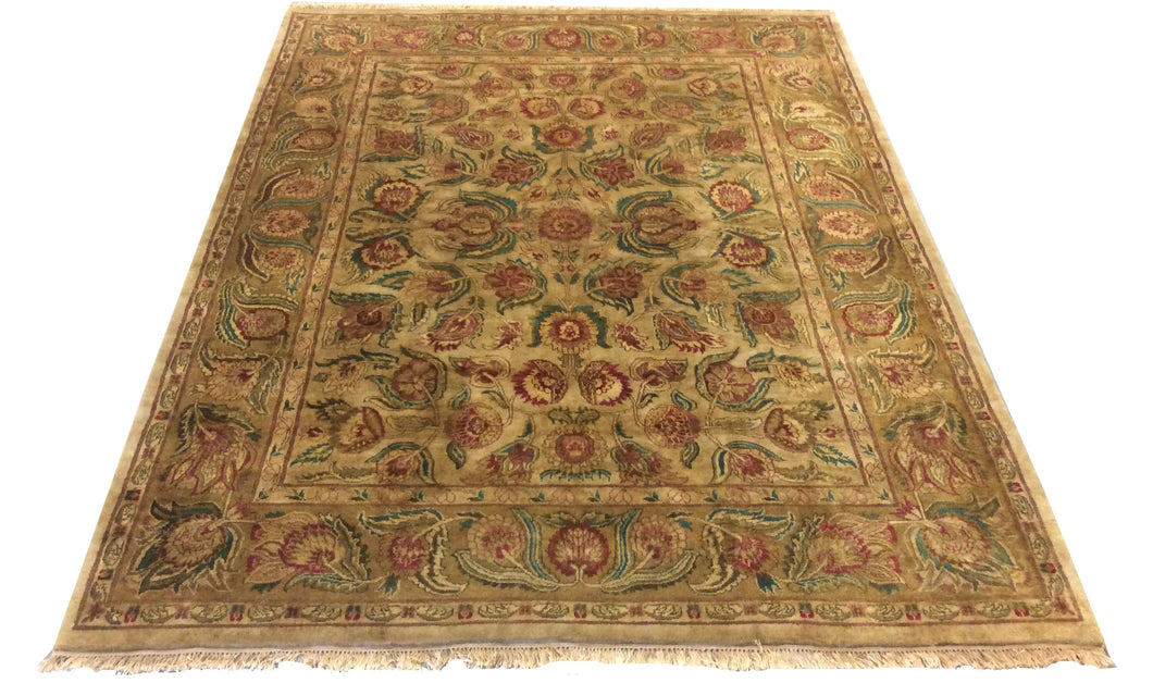 Jaipur  Earth Tones Hand-Knotted Rug