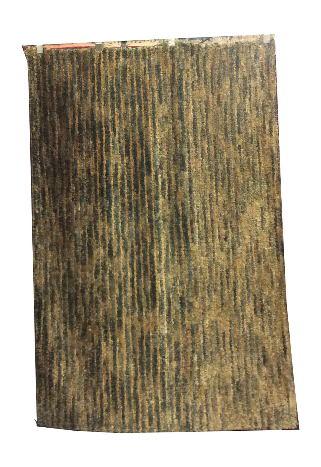 Gabbeh Green Hand-Knotted Rug