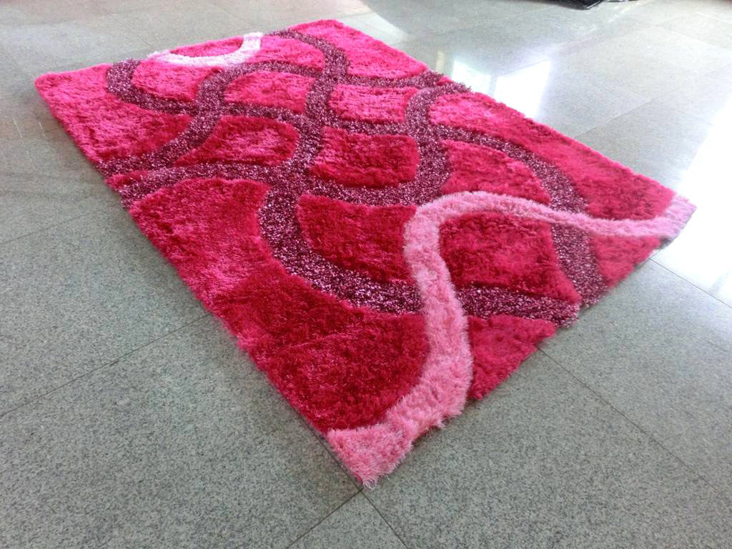 A15 Pink Area Rug