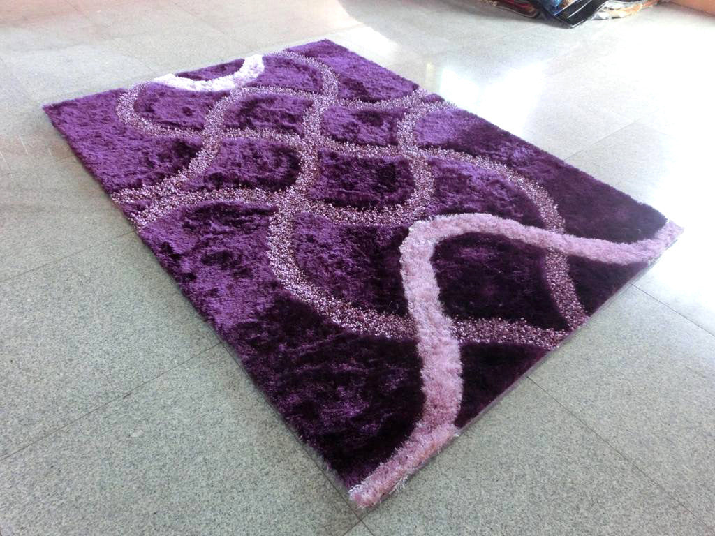 A15 Purple Area Rug