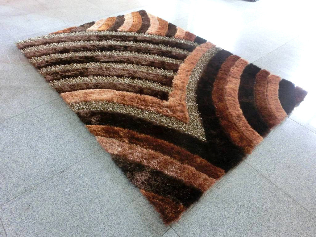 A16 Brown Area Rug