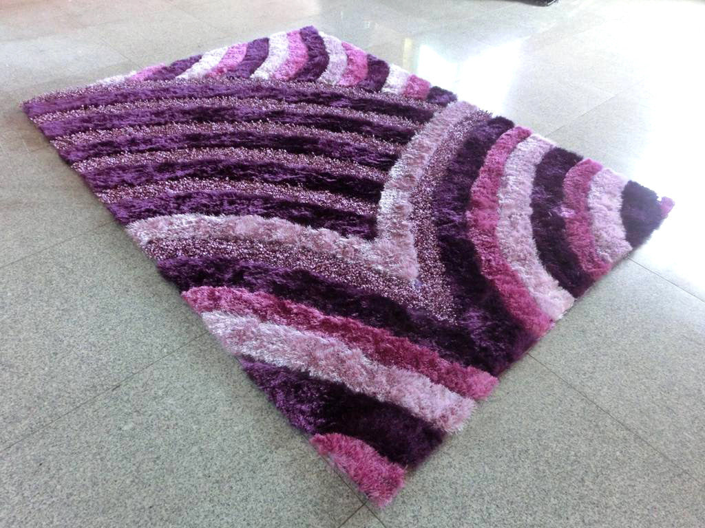 A16 Purple Area Rug