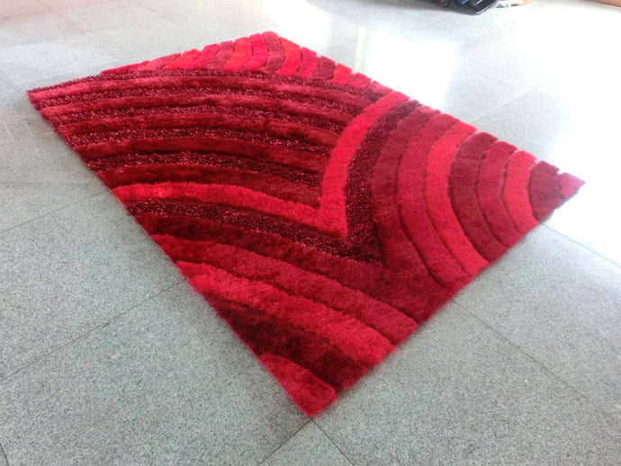 A16 Red Area Rug