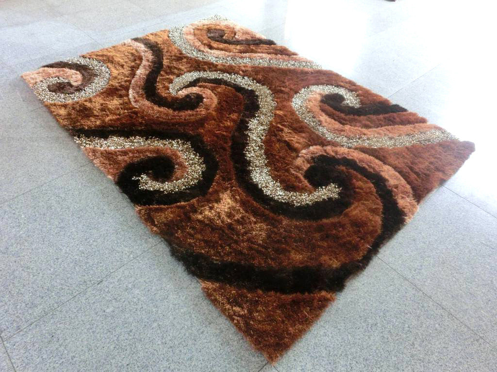 A17 Brown Area Rug