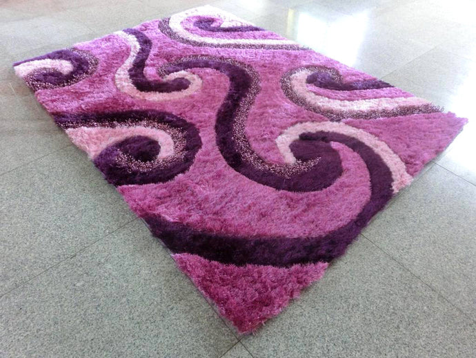 A17 Purple Area Rug