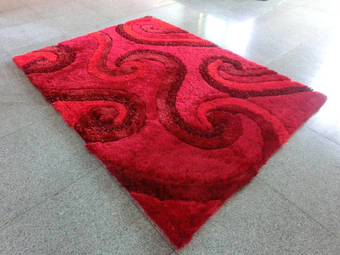 A17 Red Area Rug