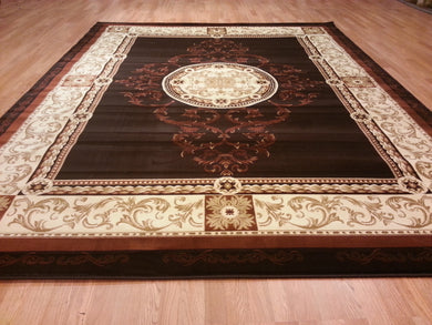 A801 Brown Area Rug