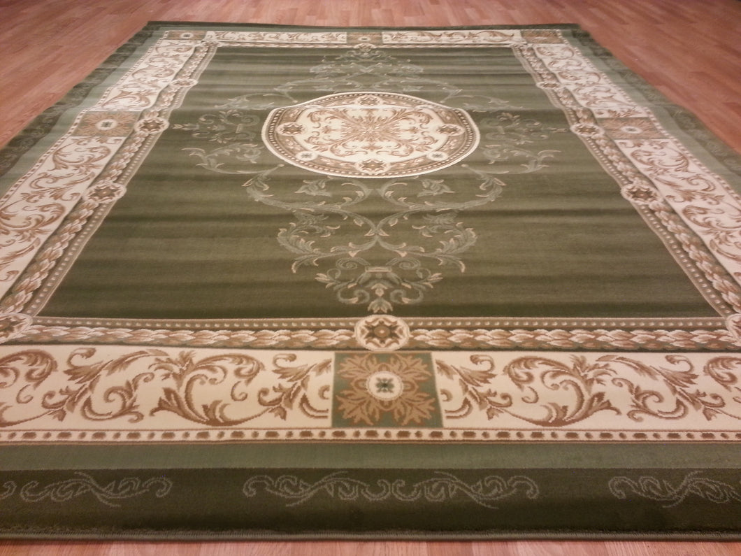 A801 Sage Green Area Rug