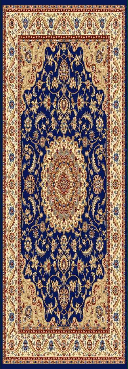 A802 Dark Blue Area Rug