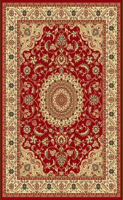 A802 Red Area Rug