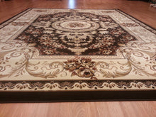 A804 Brown Area Rug