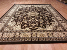 A805 Brown Area Rug