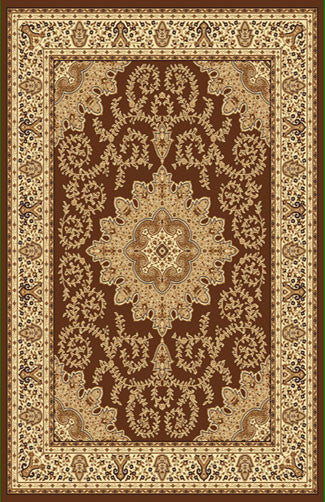 A806 Brown Area Rug