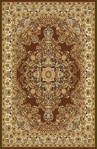 A807 Brown Area Rug