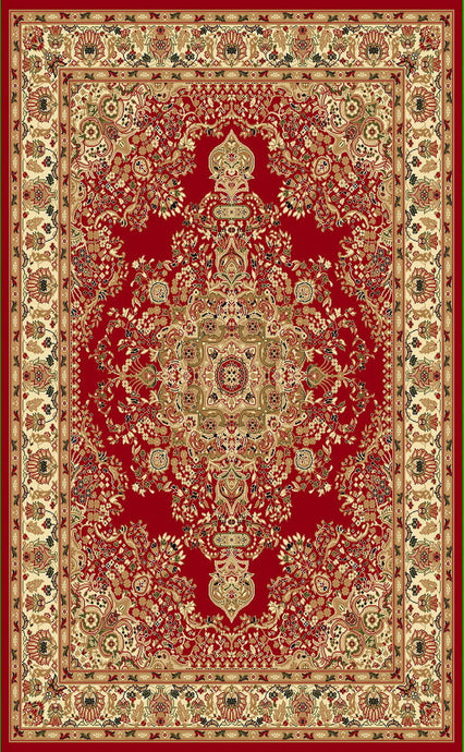 A807 Red Area Rug