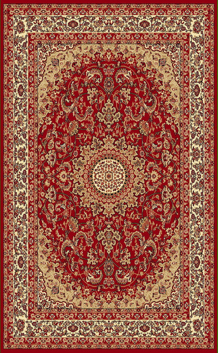 A808 Red Area Rug