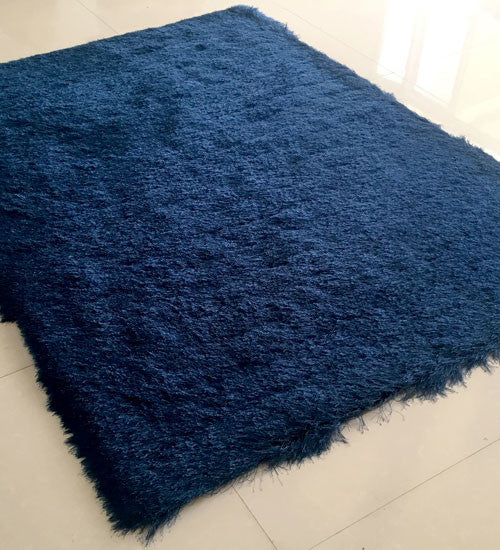 AHS0001 Navy Blue Blue Area Rug