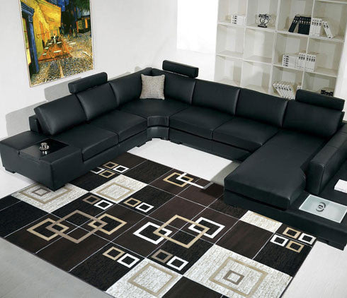 B05 Brown Area Rug