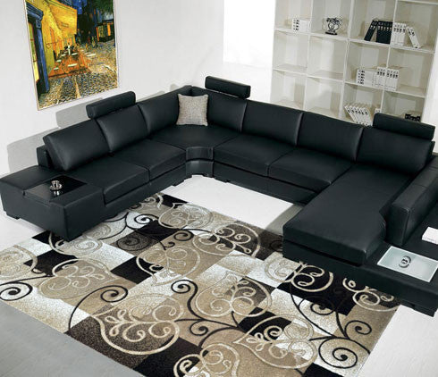 B11 Brown Area Rug
