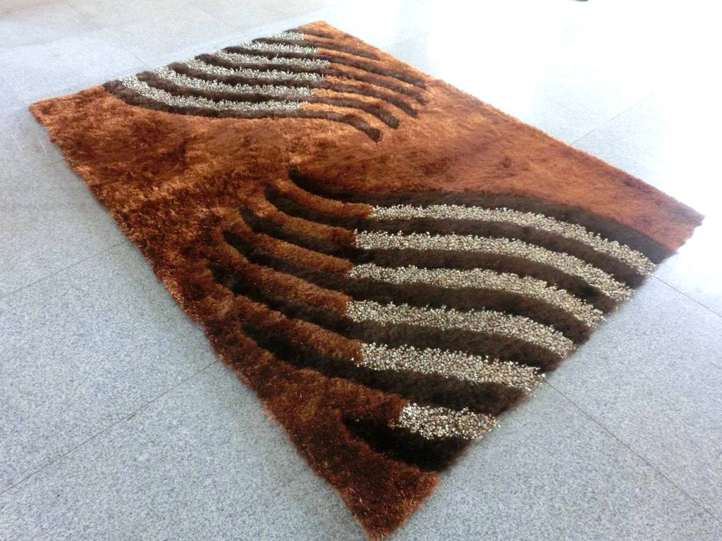 B59 Brown Area Rug