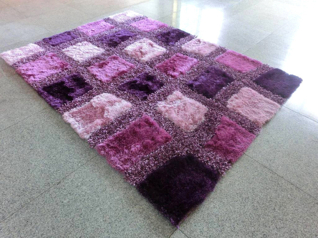 B86 Purple Area Rug