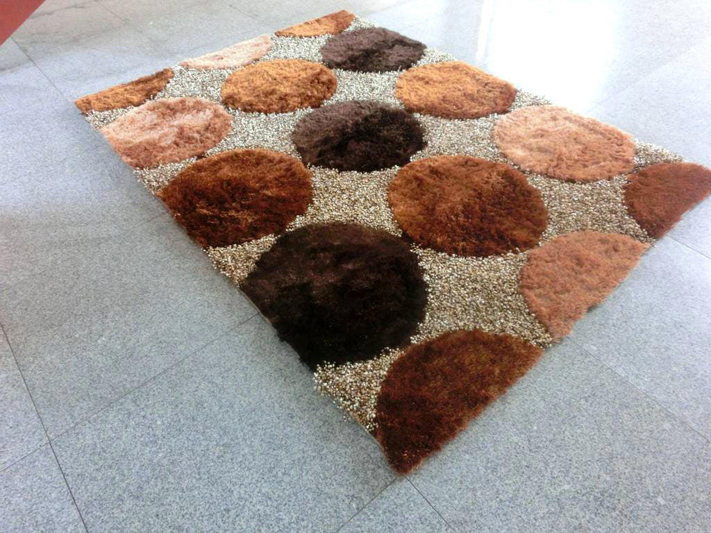 B89 Brown Area Rug