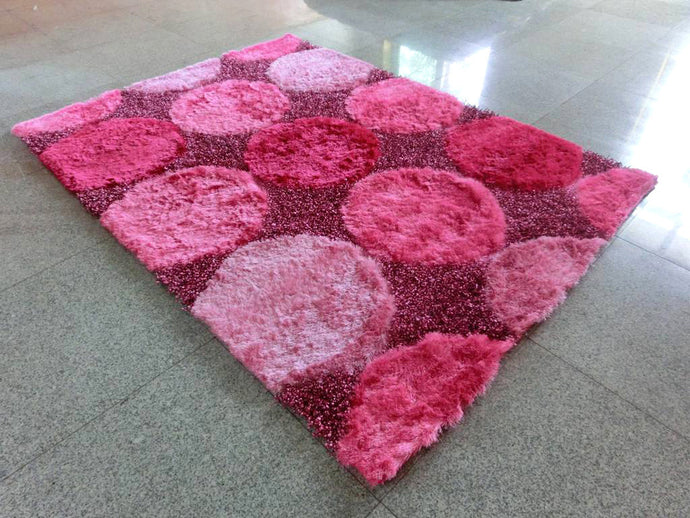 B89 Pink Area Rug