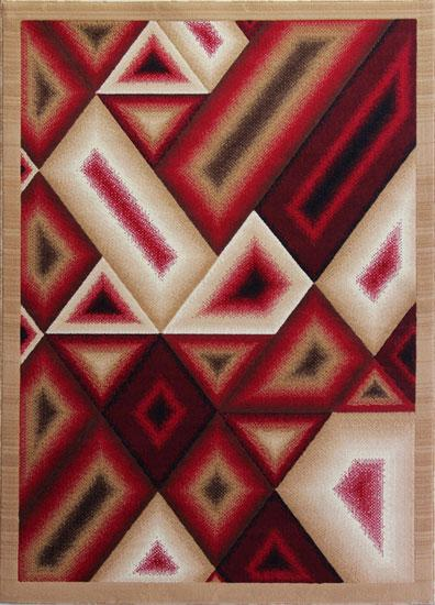 Berber/Red Area Rug - Rug Tycoon