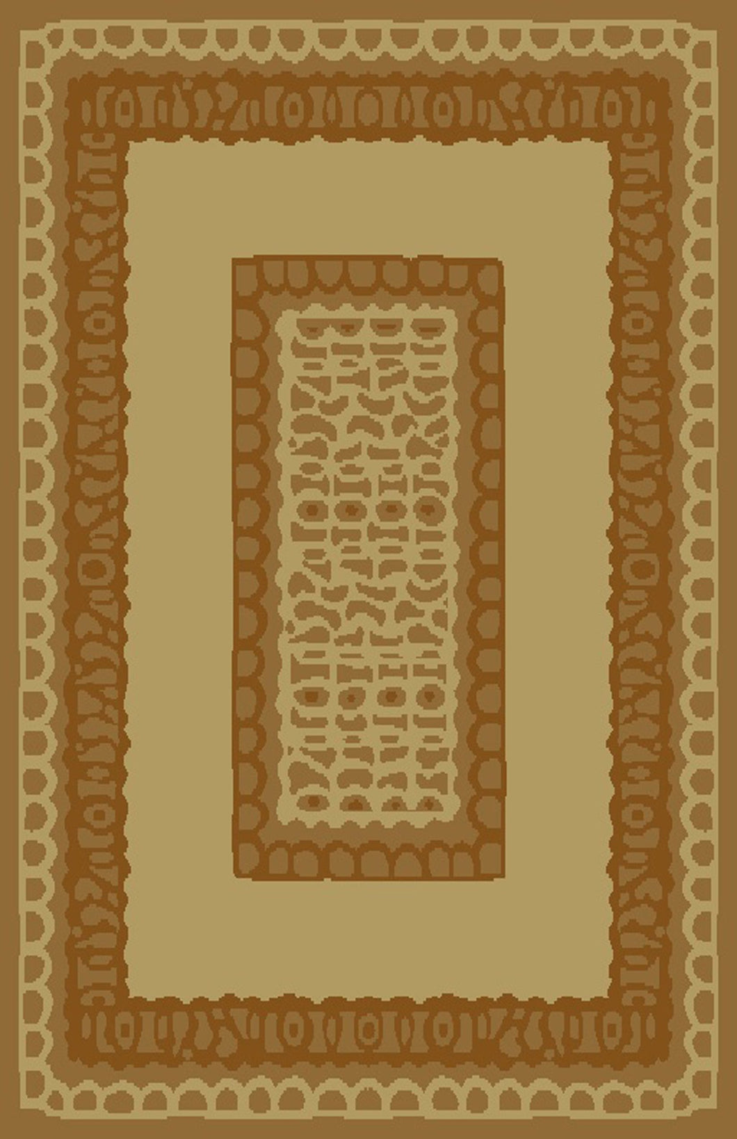 Carolyn Ivory/Brown Area Rug