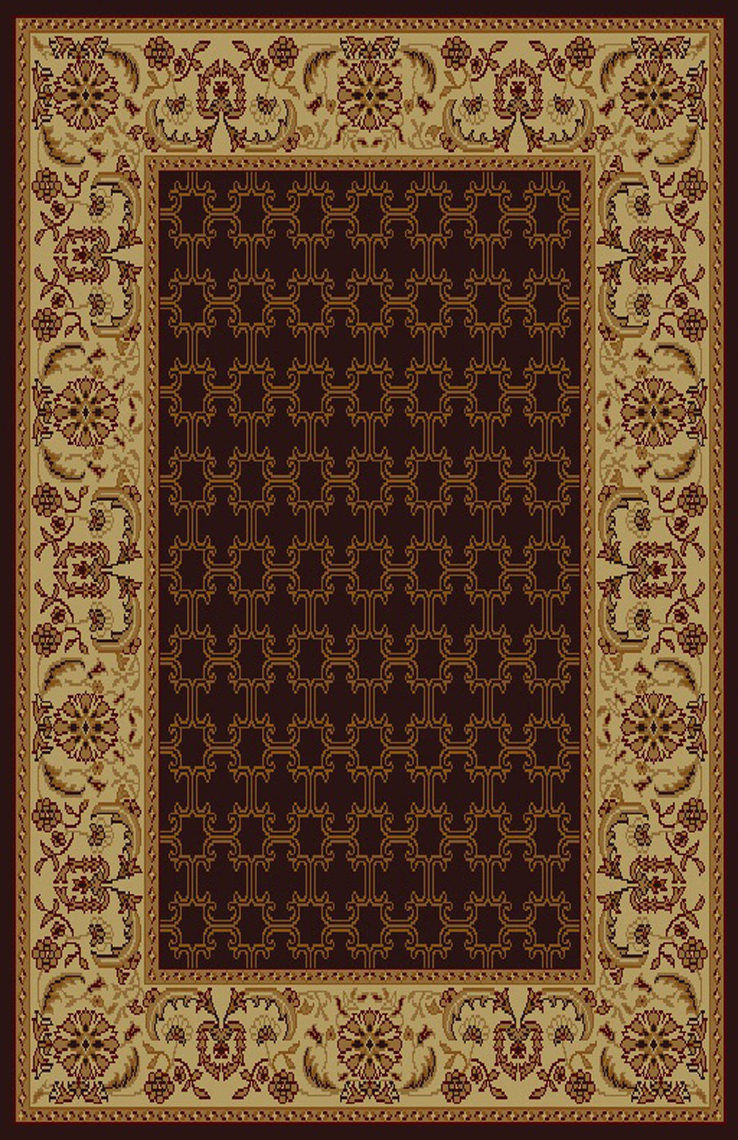 Godmond Brown Area Rug