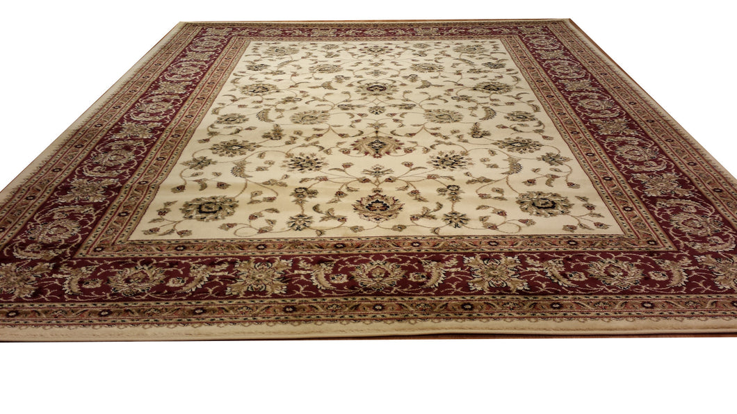 D601 Ivory Area Rug
