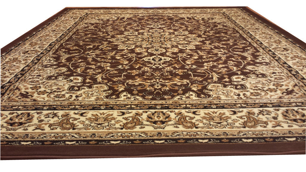 D603 Brown Area Rug